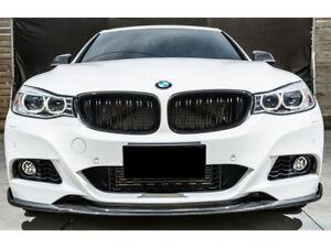 BMW 3 Series GT F34 Negro Brillante Diamante Estilo Riñón Rejillas Parrilla Parrillas UK