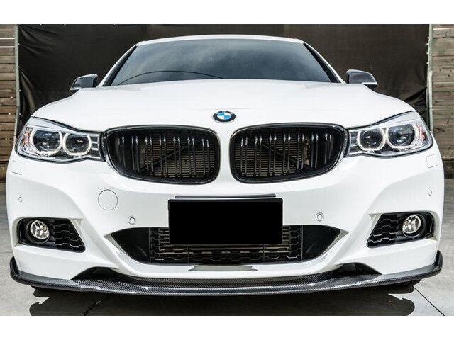c349c58d1b BMW F34 3 Series GT Gran Turismo Kidney Grill Grille Gloss Black Twin Bar M  Look