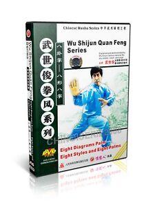 Chinese Kungfu Bagua Zhang 8 Diagrams Palm - 8 Styles & 8 Palms by Wu Shijun DVD