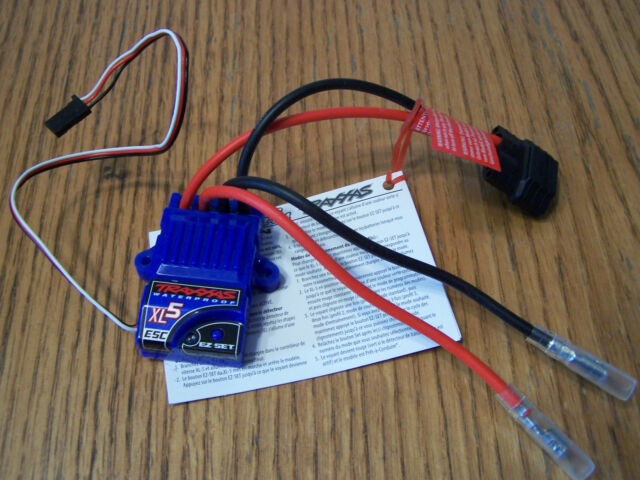 Traxxas XL-5 LVD Waterproof Speed Control ESC for 2wd Slash Raptor Stampede XL5