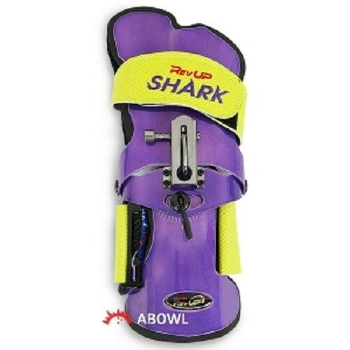 REV UP SHARK PURPLE MAMMOTH RIGHT Hand Bowling Wrist Support Accessories