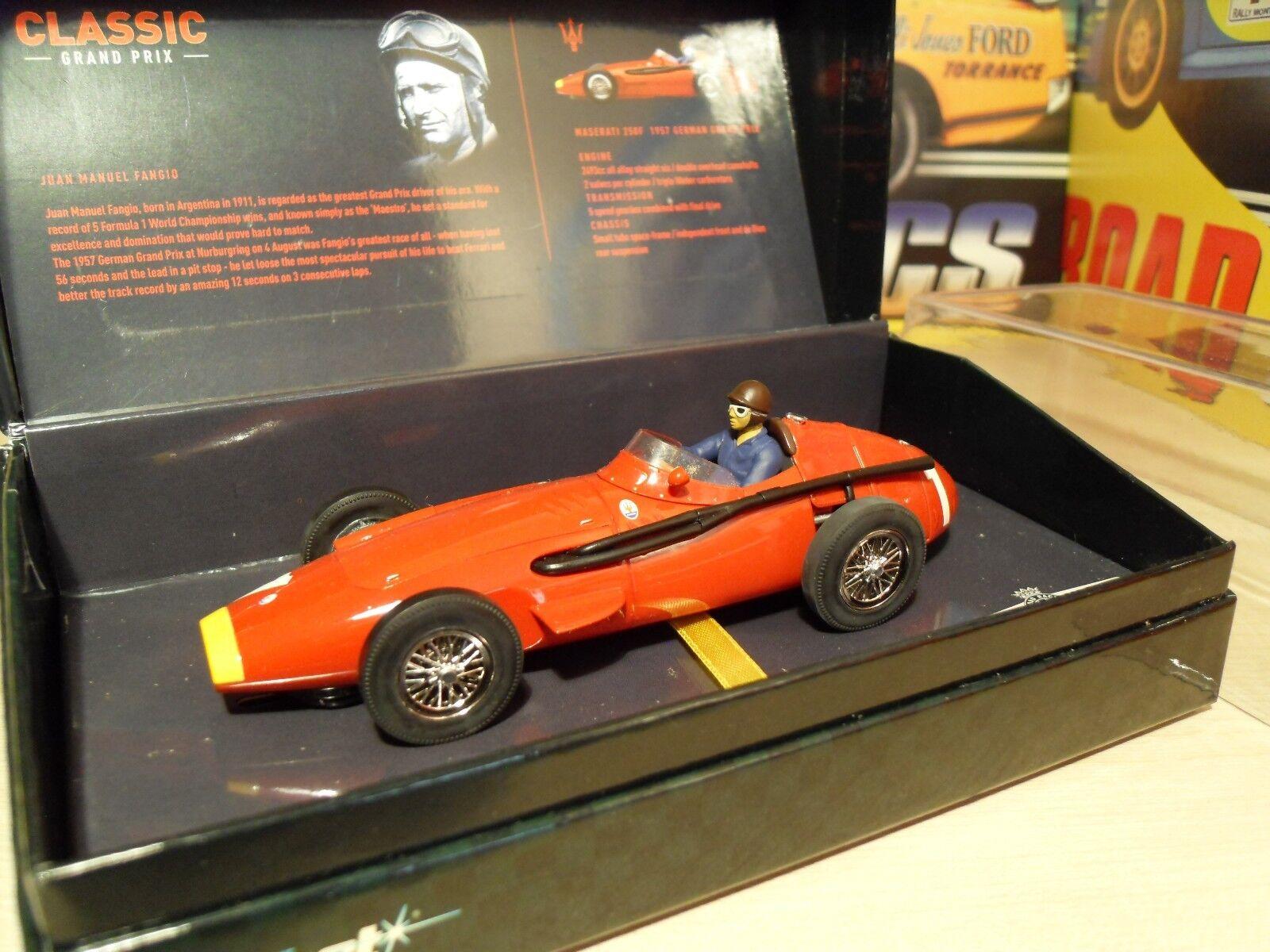 Scalextric C2551A Maserati 250F 'Fangio - 1957 German GP' - Brand New in Box