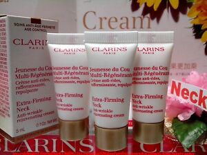 3-PCS-Clarins-Extra-Firming-Neck-Anti-Wrinkle-Cream-5ml-NEW-034-FREE-POST-034