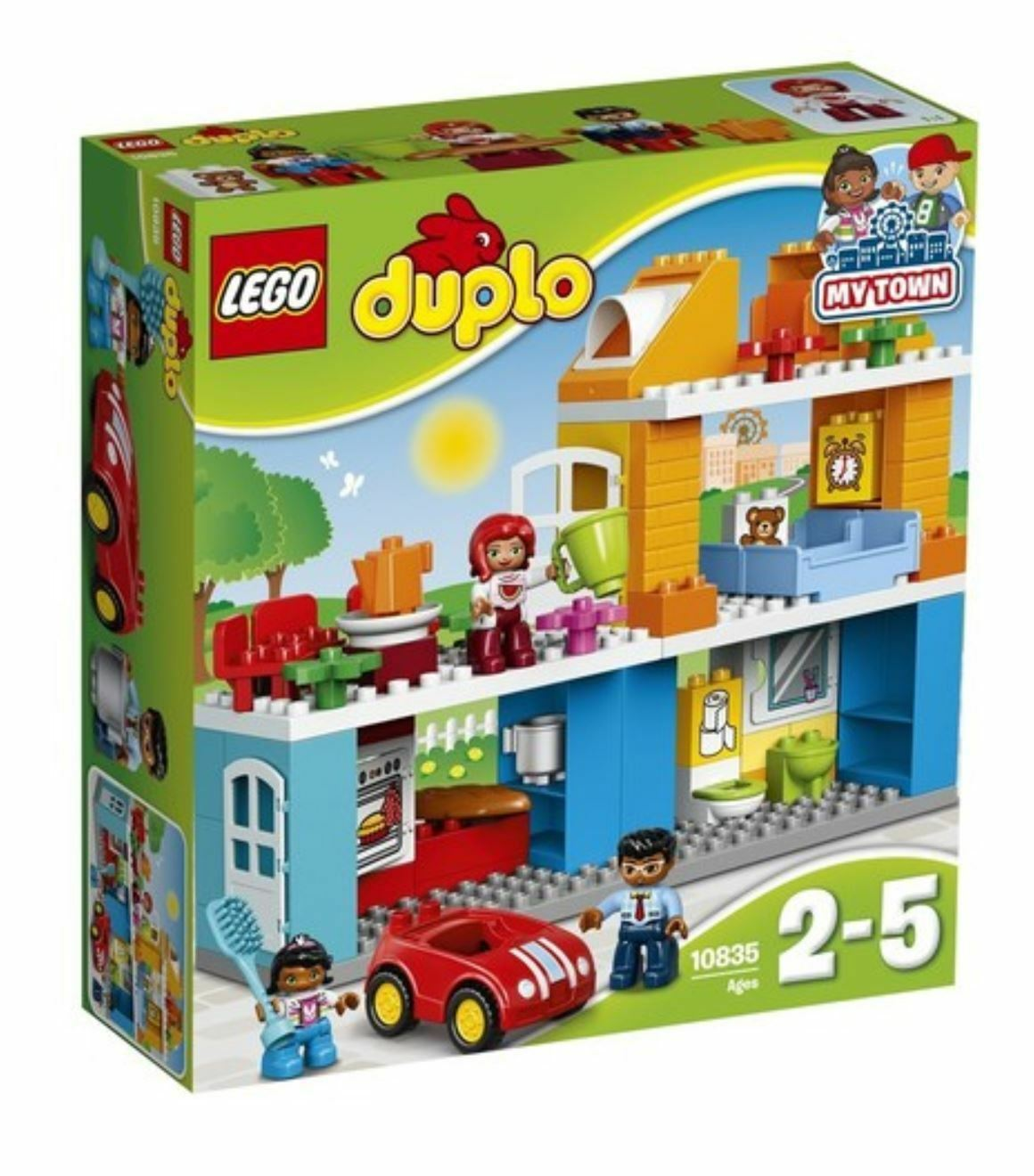 [LEGO] Duplo 10835 Creative Play Family House 2017 Version Free Shipping
