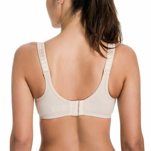 Details about  /Sport Bra High Impact Underwire Max Control Plus Size Solid Colors Brassiere