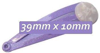 Petite Hair Snap & Glue Pad 39mm 2, 10, 20, 50 pieces 3 Colour Choices