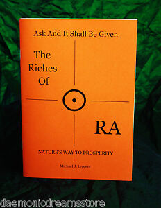 Details about THE RICHES OF RA - Finbarr, Michael Leppier, Magic  Occult  Grimoire  Magick