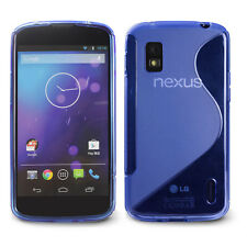 DURA S Series TPU Case Cover Skin for Google Nexus 4 / LG Nexus 4 E960-Lightblue