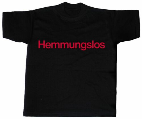 09339 FUN T-SHIRT S M L XL XXL Shirts lustige Sprüche HEMMUNGSLOS