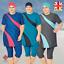 AlHamra-AL3049-Semi-Cover-Burkini-Modest-Women-Swimsuit-Muslim-Plus-Size-3XL-6XL thumbnail 1