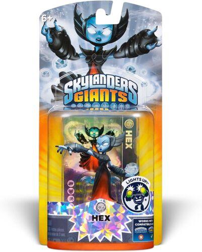 Skylanders Giants Lightcore Hex NEW IN RETAIL PACKAGE BRAND NEW SEALED