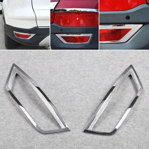 For Ford Kuga Escape 2013 2014 15-2019 ABS Chrome Rear Fog Light Lamp Cover Trim