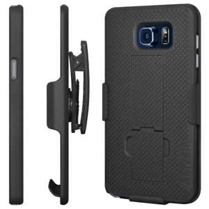 SAMSUNG-GALAXY-NOTE-5-SHELL-HOLSTER-BELT-CLIP-COMBO-CASE-COVER-WITH-KICKSTAND