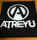 ATREYU A Circle Band Logo LARGE BACK PATCH NEW OFFICIAL MERCHANDISE Rare