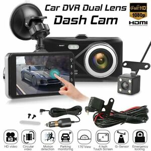 4-034-In-Car-Camera-Recorder-Dual-Front-and-Rear-HD-1080p-Dash-Cam-Night-Vision-UK