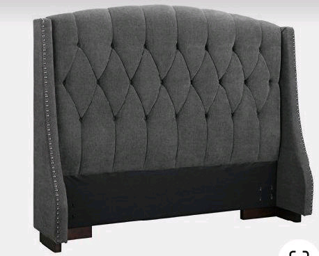 Wingback Headboards, new, all sizes, made to order.