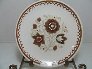 Details about ROYAL CAVALIER IRONSTONE NUTMEG BREAD & BUTTER PLATE