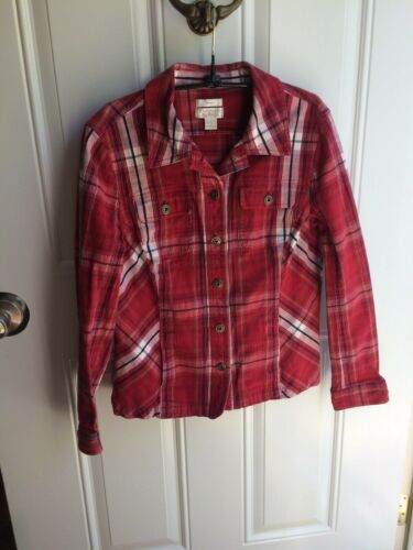 Christopher And Banks Women's Plaid Jacket Size La