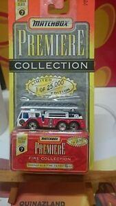 Matchbox-Primera-Springfield-Fire-Departamento-Edicion-Limitada-9963