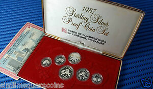 1987-Singapore-Sterling-Silver-Proof-Coin-Set-1-1-Coin