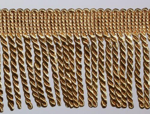 "Twisted Rope Tassel Trim 10 CM 4/"" Bullion Fringe 1//2 Mtr Available 8 Colours #2"