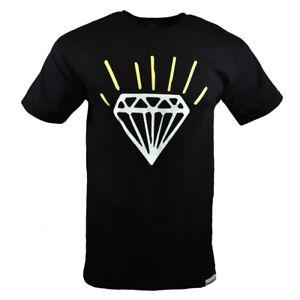 DIAMOND-SUPPLY-CO-Men-039-s-T-shirt-Fashion-100-Cotton-All-Sizes-NWT-Black