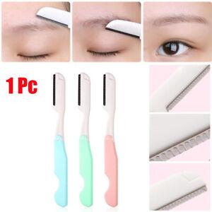 Folding-Safe-Facial-Razor-Body-Hair-Remover-Brow-Shaver-Eyebrow-Trimmer-Blade