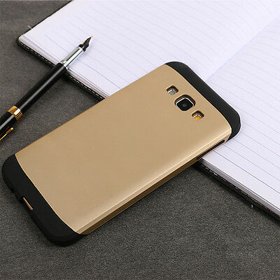 Fashion Hard Bumper Hybrid Soft Rubber Skin Case Cover For Samsung Galaxy Models