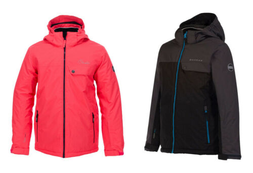 Dare2b Kids Declared Waterproof Breathable Hooded Reflective Ski Jacket