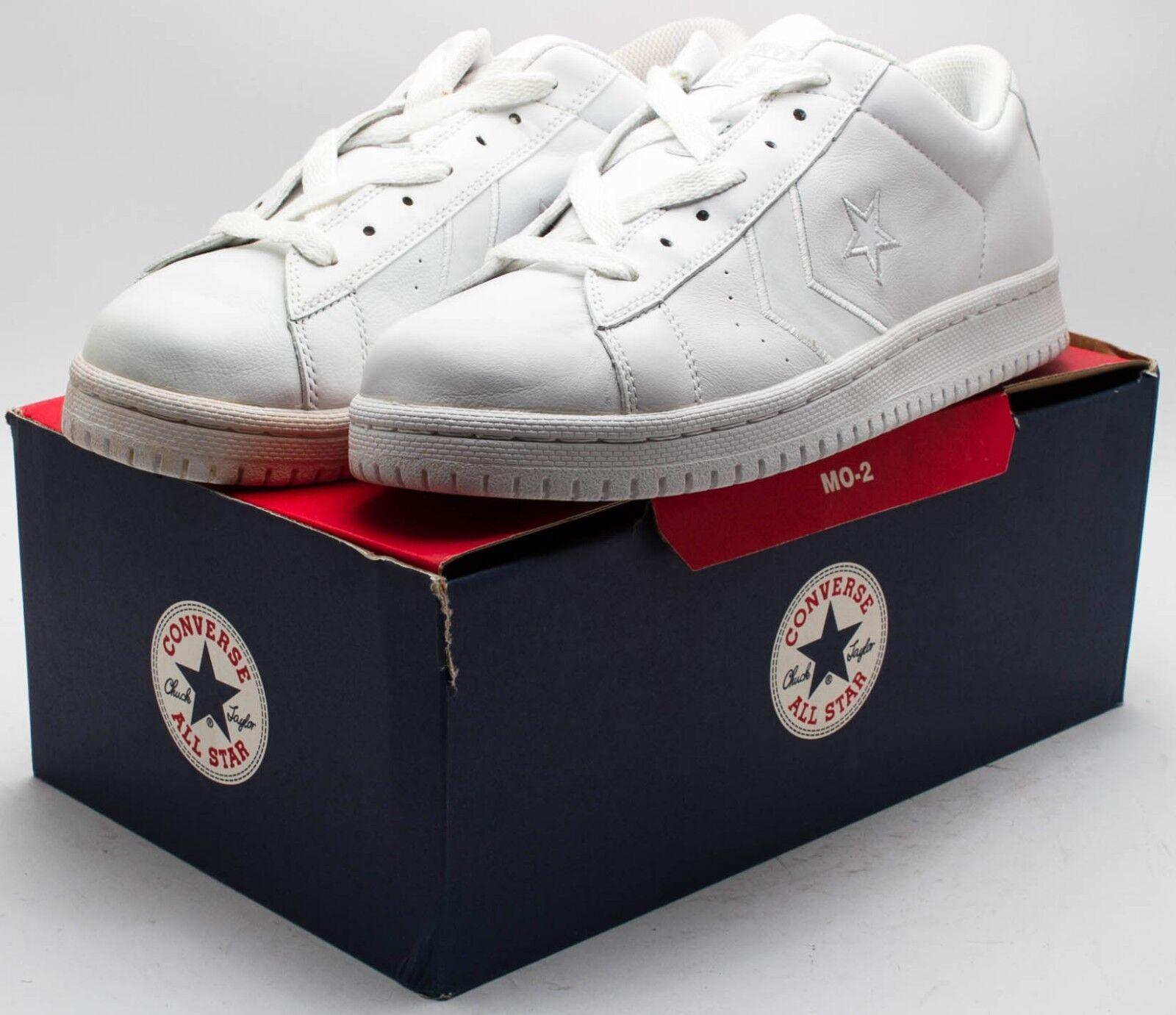 CONVERSE Vintage 2018 chaussures  1J067 Blanc Homme sz 10 Femme sz 12