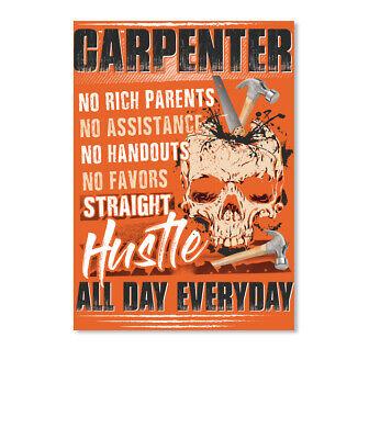Premium Sarcastic Millwright Hourly Rate $100//hr........ Portrait Sticker