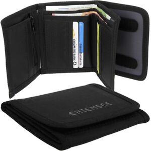 CHIEMSEE-Herren-Geldbeutel-Portemonnaie-Geldboerse-Stoff-Brieftasche-City-Wallet