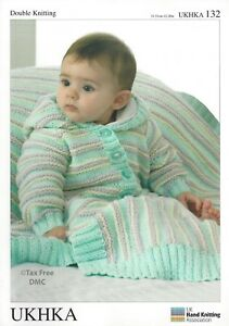 VAT Free Hand Knitting Pattern DK Baby Child Blanket ...