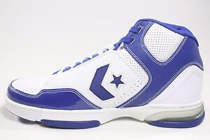 cd558b040c43 Image is loading NEW-RARE-Converse-Weapon-EVO-Mid-White-Blue-
