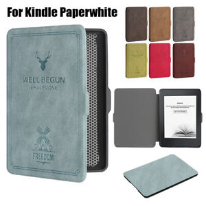 Details about Smart Case Magnetic e-Books Reader Cover For 2018 Amazon  Kindle Paperwhite New