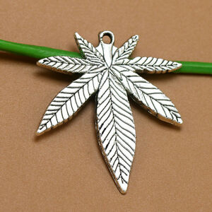Wholesale tibetan silver cannabis pot leaf charms pendants la foto se est cargando por mayor plata tibetana cannabis hoja de marihuana aloadofball Gallery