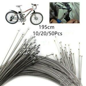 100 x Alloy Bicycle Bike Inner Wire Gear Brake Cable End Cap Crimp Ferrule UK