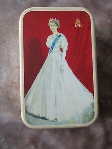 HM Queen Elizabeth II CORONATION 1953 TIN