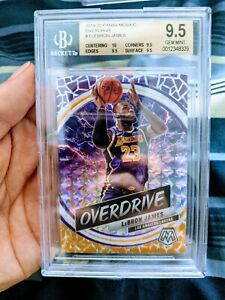 2019-20-MOSAIC-BASKETBALL-LEBRON-JAMES-OVERDRIVE-BGS-9-5-TRUE-GEM-MINT