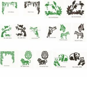 Animals-ZOO-Branches-Metal-Cutting-Dies-Stencil-Scrapbooking-Embossing-DIY-Card