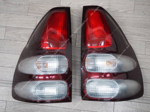 For Toyota Land Cruiser Prado LC120 2003-2009 Rear Taillights Signal Lamps Pair