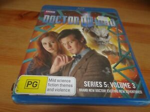 DOCTOR-WHO-SERIES-5-VOLUME-3-BLU-RAY-DVD-GOING-CHEAP