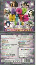 CD + DVD : POP HITS avec MILEY CYRUS, DEMI LOVATO, SELENA GOMEZ, JONAS BROTHERS