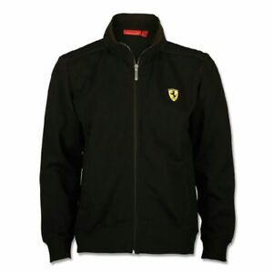 Ferrari-Jacket-Black-Zipped-with-Hood-Size-S-Official-Licensed-Product-Ferrari