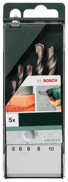 Bosch 5tlg. Betonbohrer-Set