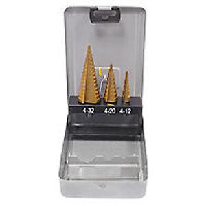 Germania-hss Foret étagé Kit En Cassette Tin Foret 4-32mm 3 Pièces Jtqqrexr-07221042-888217989