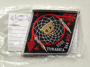 TUKARICA-OA-LODGE-266-SERVICE-SCOUT-PATCH-2001-MINT-RARE-SMY-BORDER