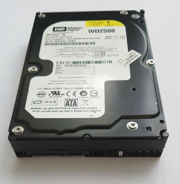 Western Digital WD2500JD 250 GB SATA I WD Festplatte 7200 RPM 8 MB Cache