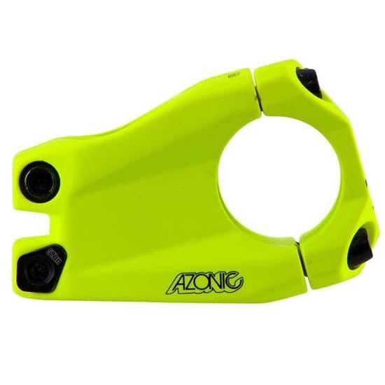 Azonic Baretta Evo Handlebar Stem 31.8mm x 40mm MTB Bicycle Mountain Bike Yellow