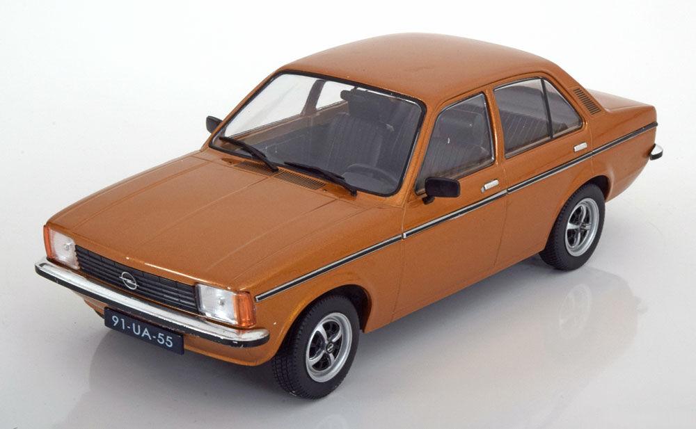 Triple 9 1977 Opel Kadett C Saloon golden color in 1 18 Scale. New Release
